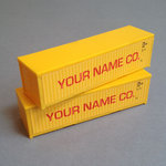 Personalised Container Sides (OO Gauge)