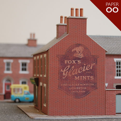 Fox's Glacier Mints (Paper/OO Gauge)