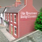 'Yourtown' Daily Chronicle – Personalised Ghost Sign (Paper/OO Gauge)