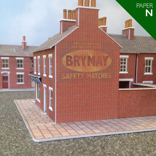 Brymay Safety Matches (Paper/N Gauge)