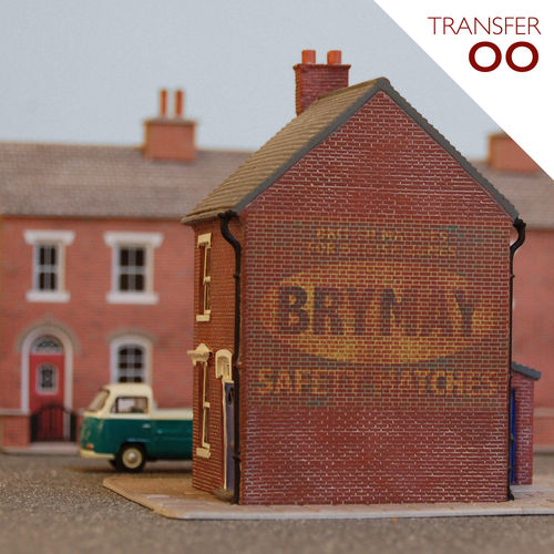 Brymay Safety Matches (Transfer/OO Gauge)