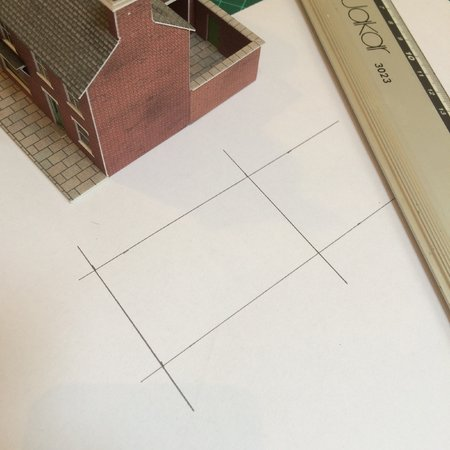 Transfer the measurements onto your piece of scrap paper and draw a basic rectangle.\\n\\n13/06/2015 15:53